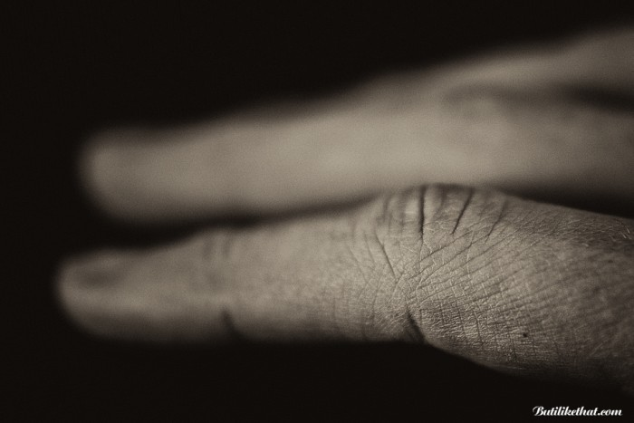 My Hand BW 04 700x467 Close up Photography