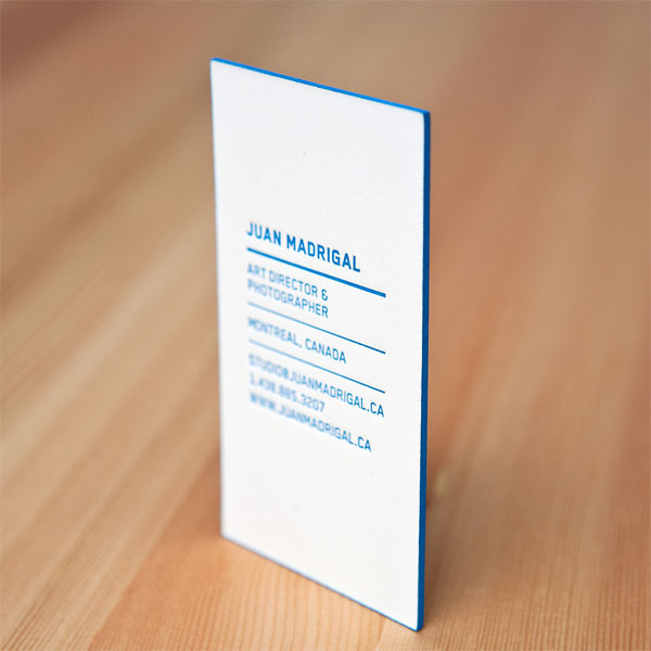 Simple Businesscard03 Beautiful Blue Business Card