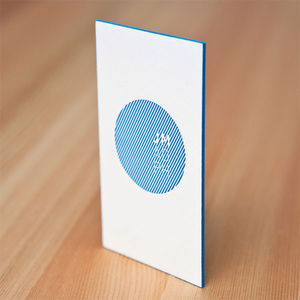Simple Businesscard04 Beautiful Blue Business Card