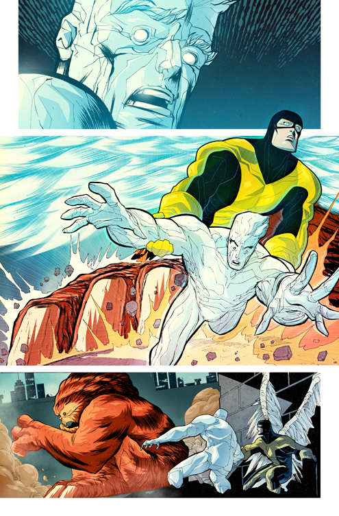 X Men First Class Comic066 X Men First Class: Iceman and Angel Comic