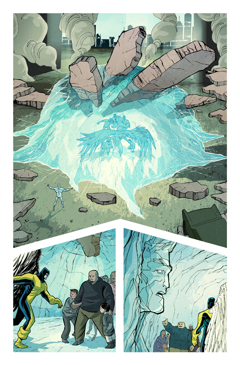 X Men First Class Comic07 X Men First Class: Iceman and Angel Comic