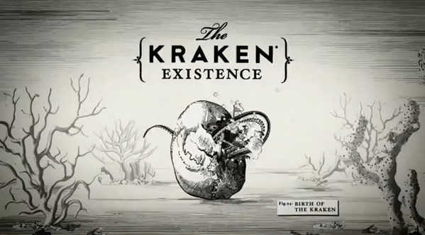 Kraken Rum Illustrated Animations 01 Kraken Rum Illustrated Animations