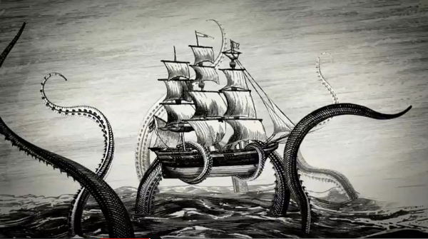 Kraken Rum Illustrated Animations 02 Kraken Rum Illustrated Animations