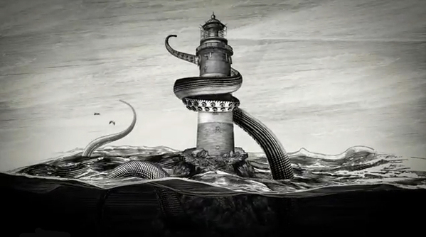 Kraken Rum Illustrated Animations 04 Kraken Rum Illustrated Animations