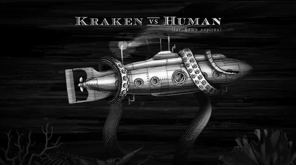 Kraken Rum Illustrated Animations 06 Kraken Rum Illustrated Animations
