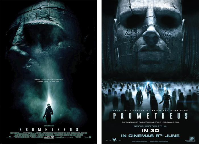 prometheus poster Prometheus Advertising