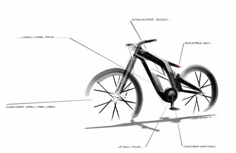 Audi E Bike Worthersee 10  Audi E Bike Worthersee Concept