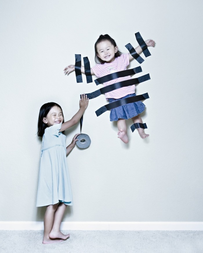 Creative Photos of The Two Sisters