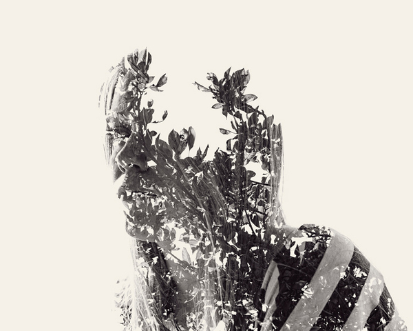 multiple exposure portraits 01 We Are Nature