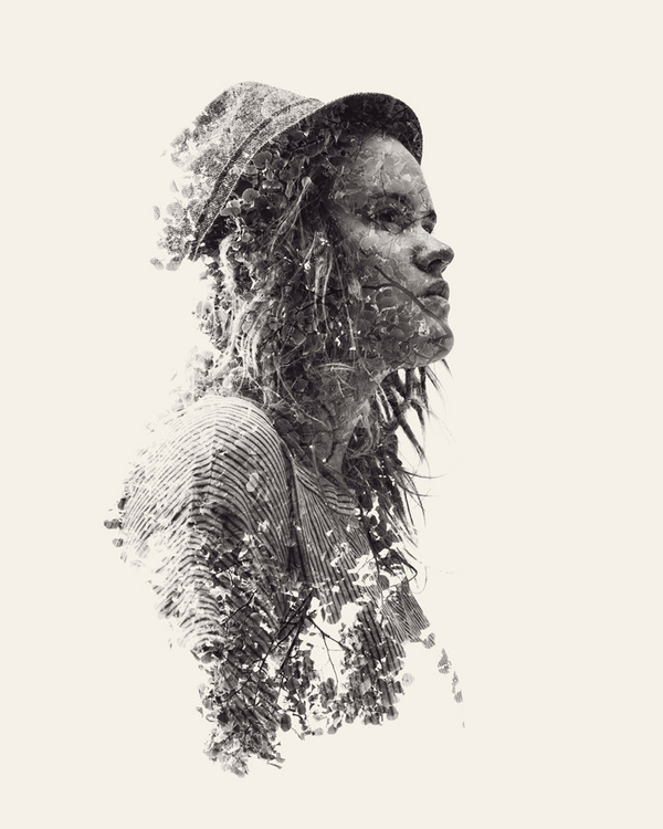 multiple exposure portraits 03 We Are Nature