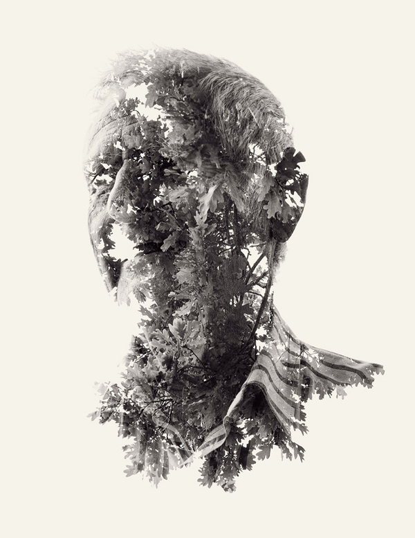 multiple exposure portraits 07 We Are Nature