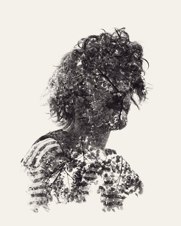 multiple exposure portraits 12 We Are Nature