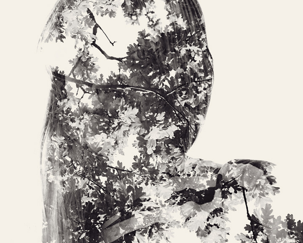 multiple exposure portraits 13 We Are Nature