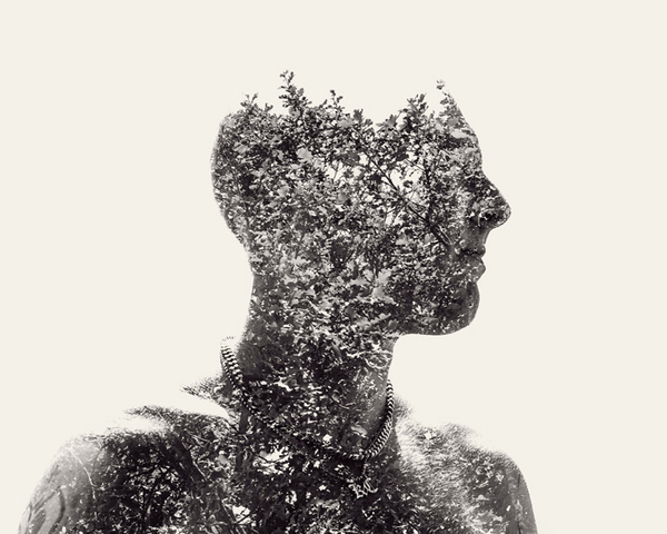 multiple exposure portraits 14 We Are Nature