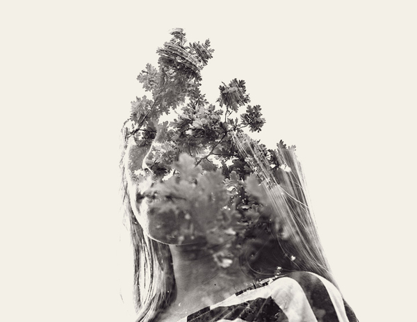 multiple exposure portraits 15 We Are Nature