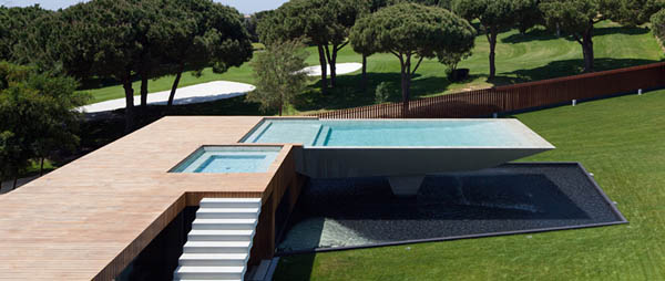 Casa Vale Do Lobo by Arqui+Arquitectura 11 Amazing Infinity Pool