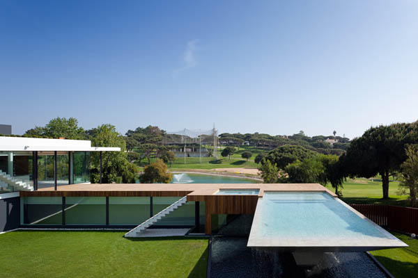 Casa Vale Do Lobo by Arqui+Arquitectura 5 Amazing Infinity Pool