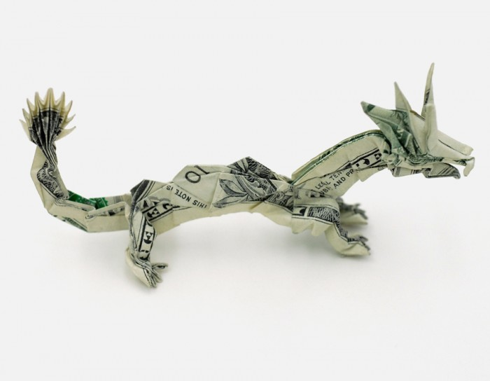 Origami With Money