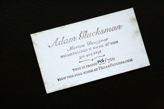 Laser cut business cards 0204 Laser Cut Business Cards