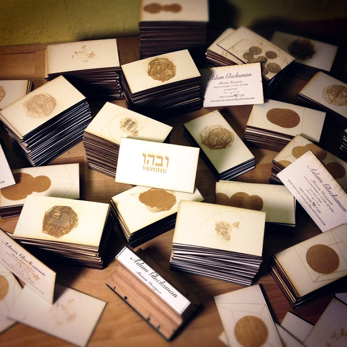 Laser cut business cards 0709 Laser Cut Business Cards