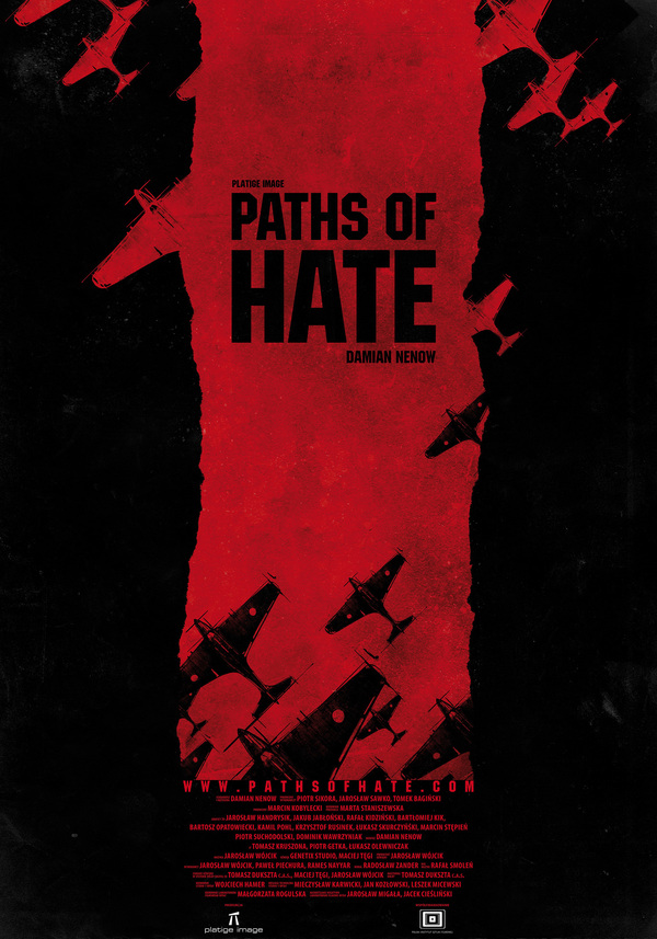 Paths of Hate short film poster Paths of Hate   a great little animated film!