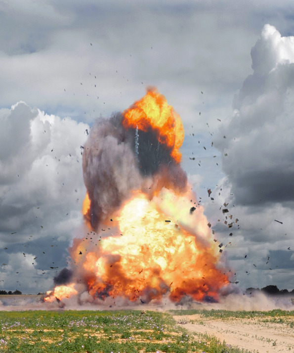 Explosion Photography