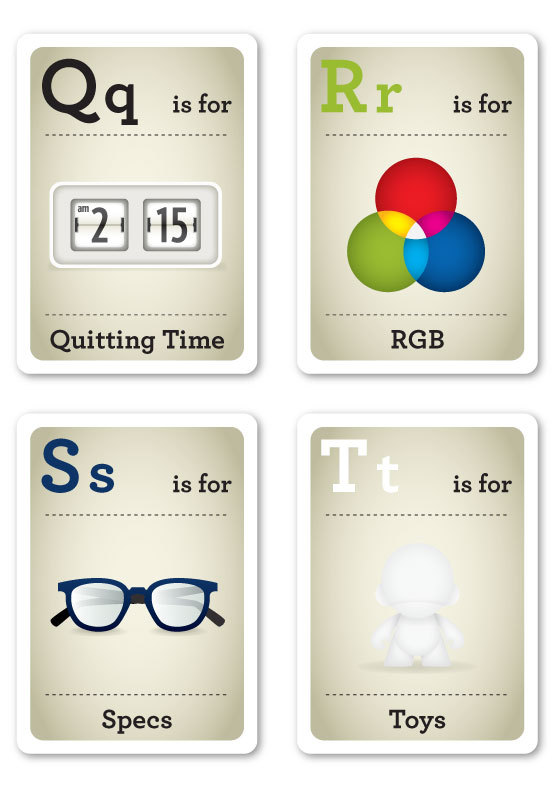 modernflashcards05 Modern Day ABC... Cards