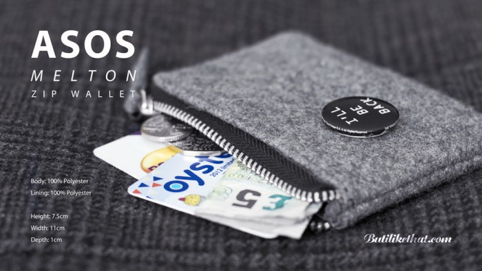 ASOS zip wallet 0004 5 700x394 ASOS Melton Zip Wallet