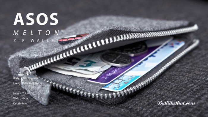 ASOS zip wallet 0008 9 700x394 ASOS Melton Zip Wallet