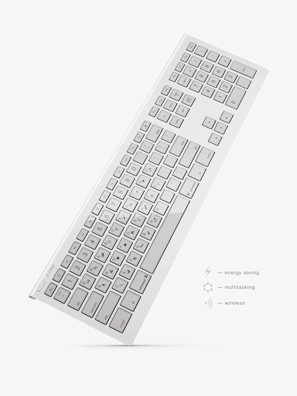 E ink.. possibly the best keyboard ever