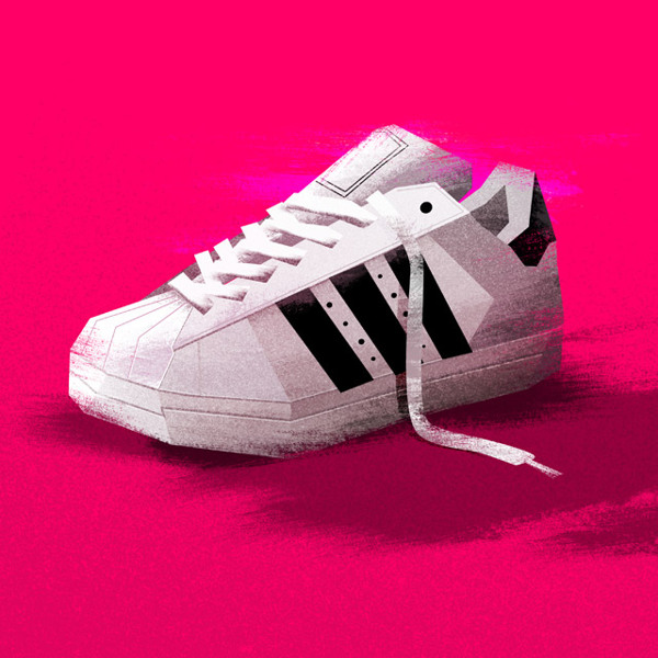 Adidas Superstar Nerdy Illustrations