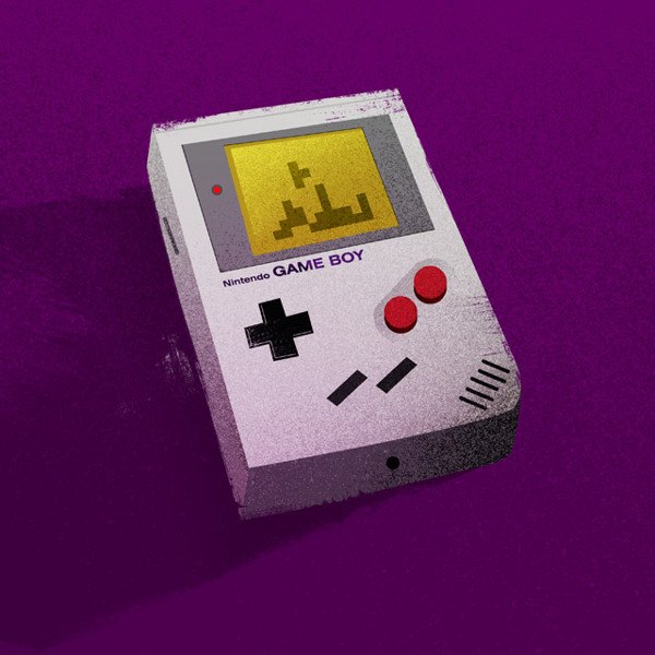 Game Boy Nerdy Illustrations