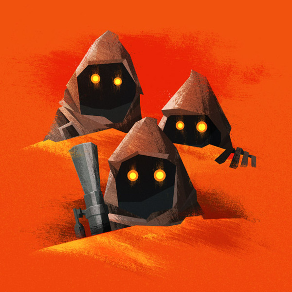 Jawas Nerdy Illustrations