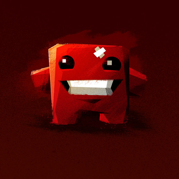 Meat Boy Nerdy Illustrations
